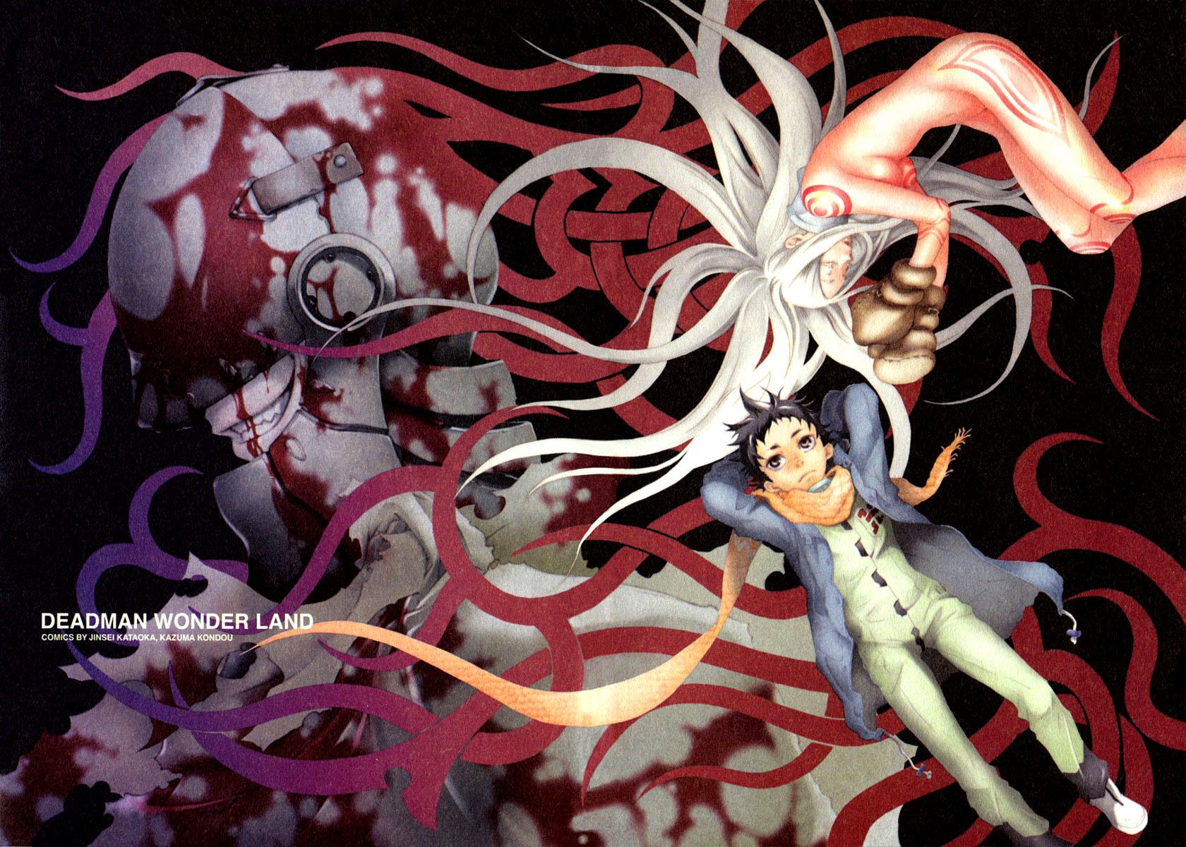 Manga recomendado deadman wonderland for Imagenes de anime gore