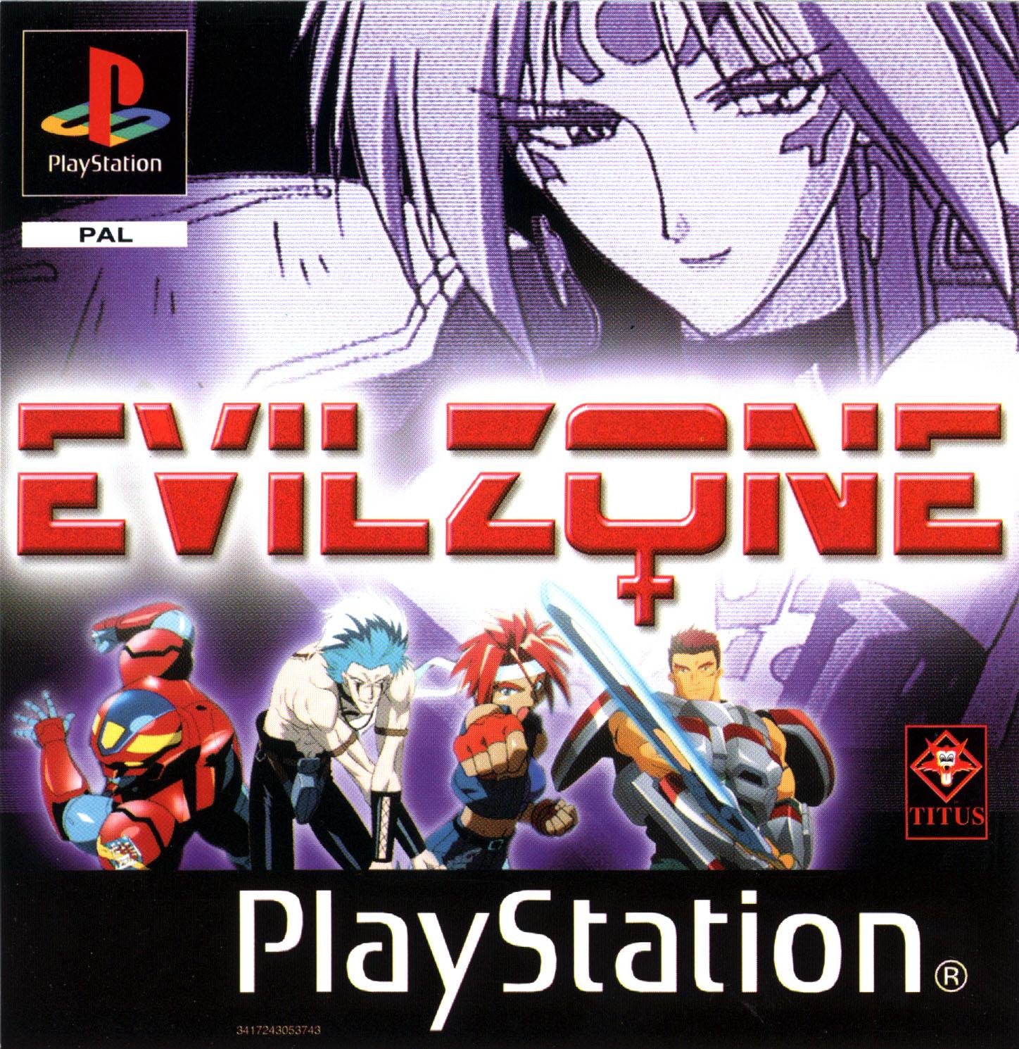 Carátula Evil Zone
