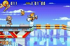 sonic advance 3 - tag mode