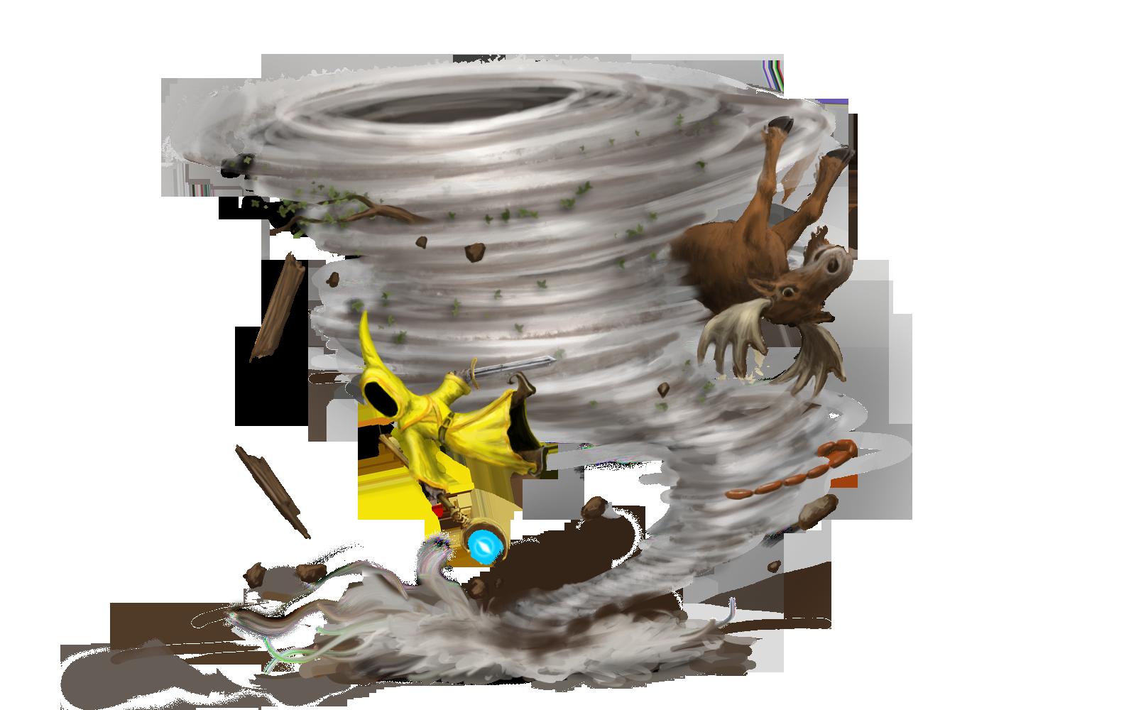 6) Tornado