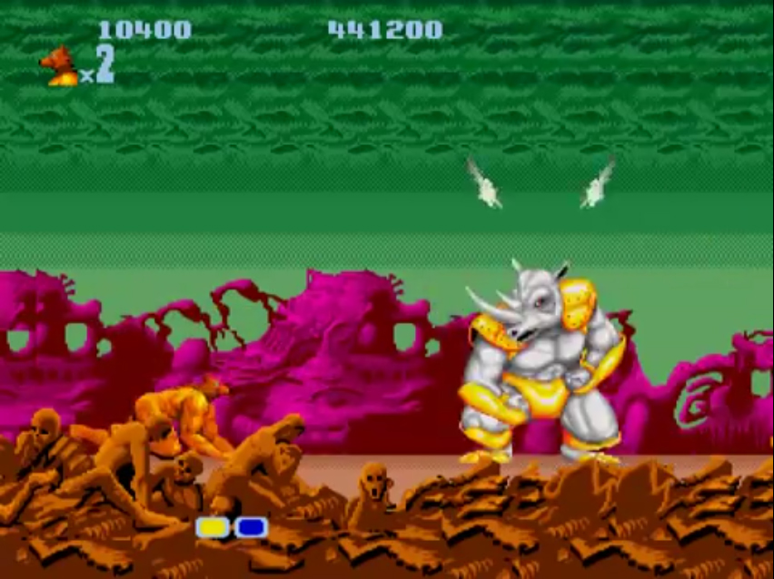 Altered Beast Mega Drive final