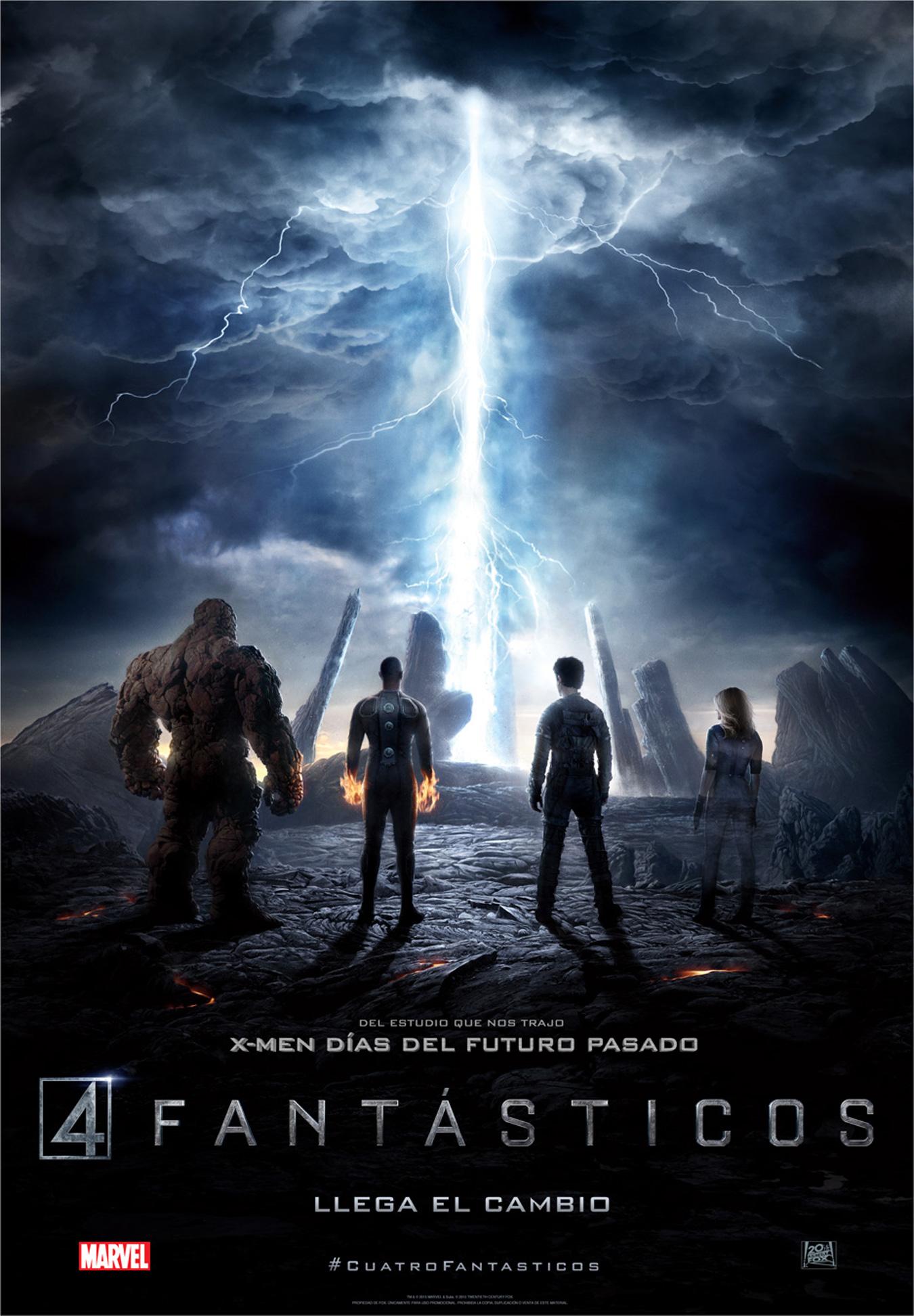 Cuatro Fantásticos póster