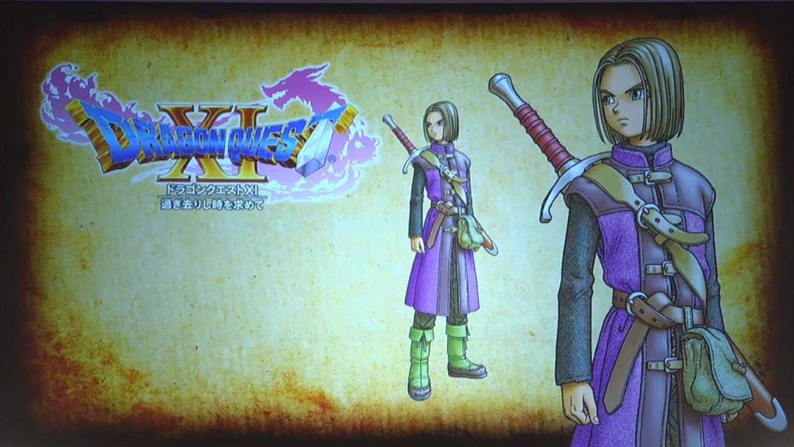 chrome Dragon Quest XI