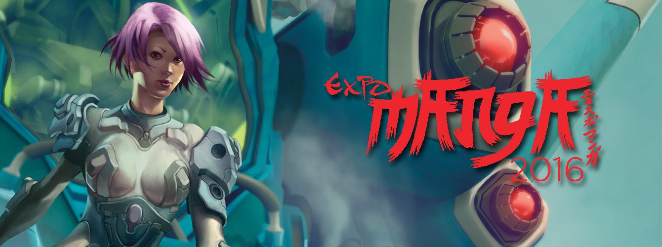 Expo Manga 2016 banner