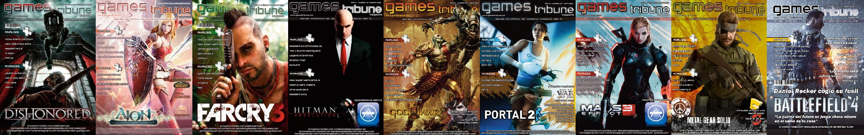 Gamestribune old covers