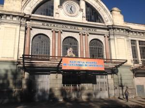 La antigua estación de Principe Pio se convierte en La Base de la Alianza. Tendréis que entrar para ver que  sorpresas hay.