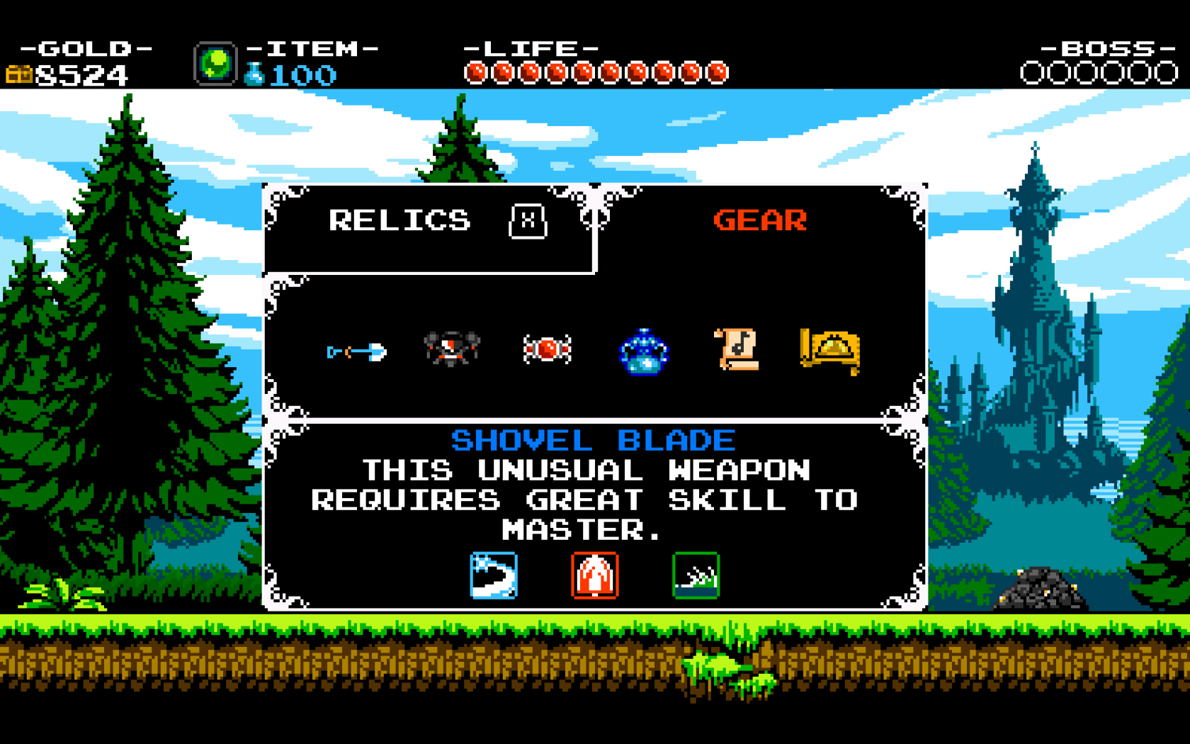 Shovel Knight Inventario_2