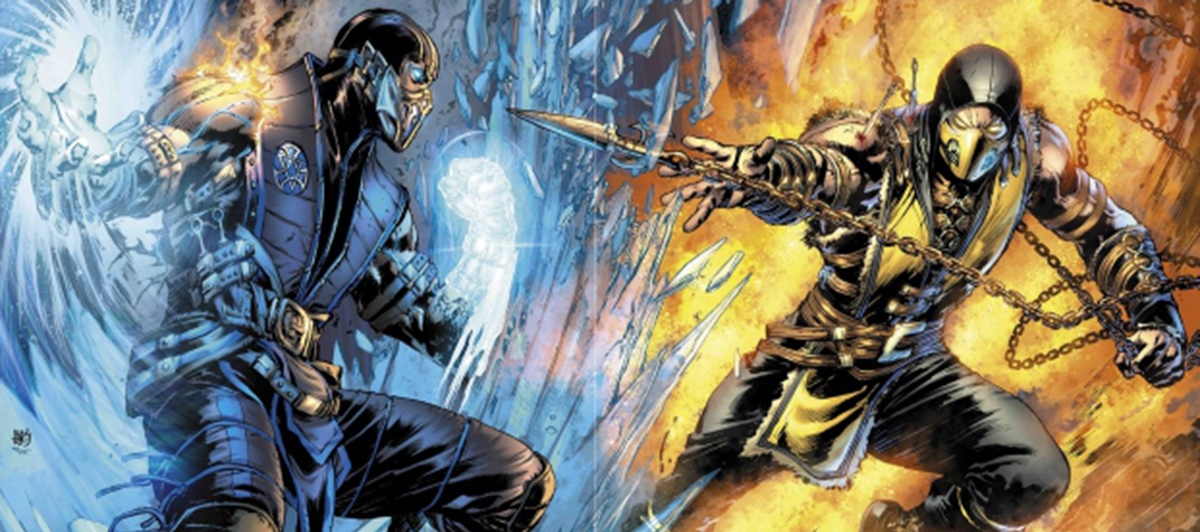 Mortal Kombat Banner