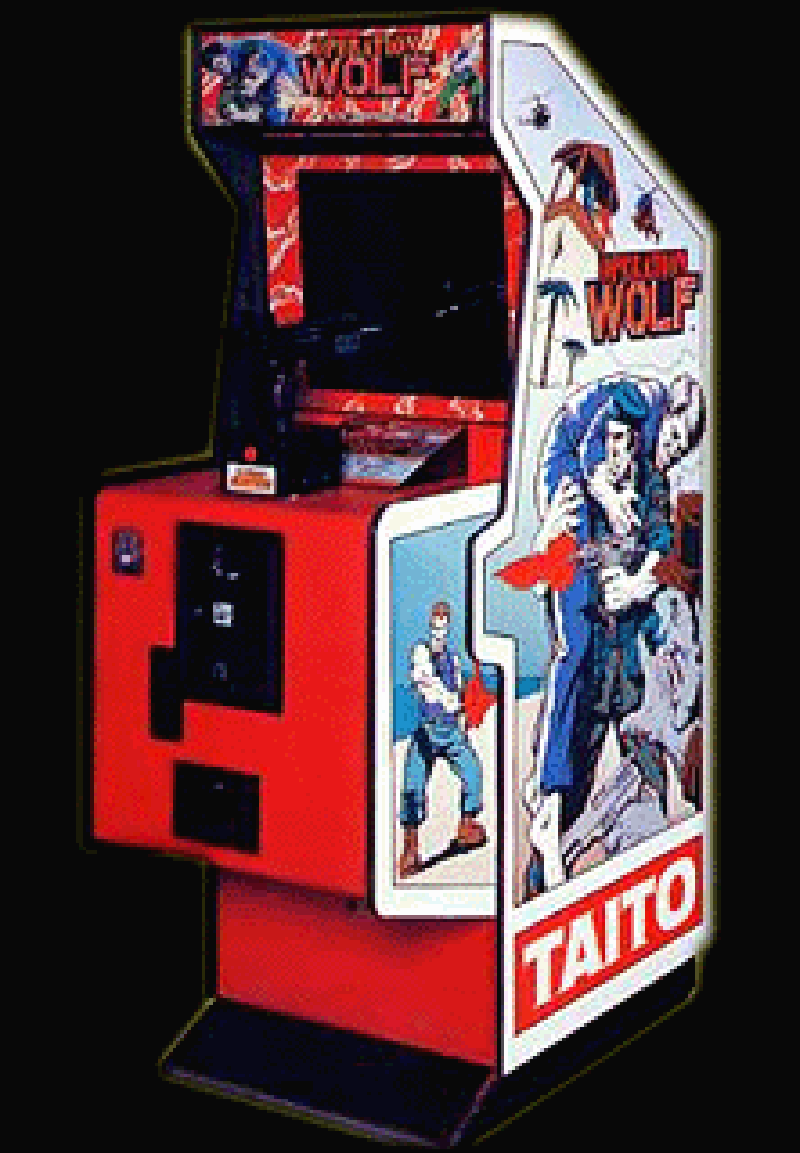 Retroarcade operation wolf for Mueble arcade