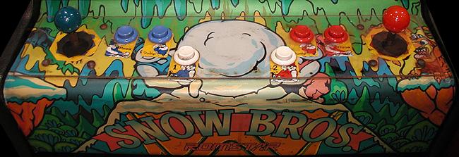 Panel de Control Snow Bros