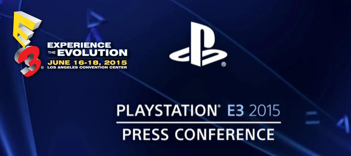 Sony conferencia E3 2015