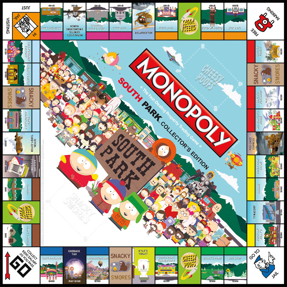 South PArk MOnopoly
