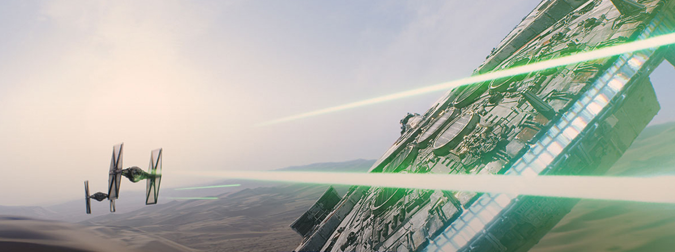 Star Wars Episodio VII El Despertar de la Fuerza banner