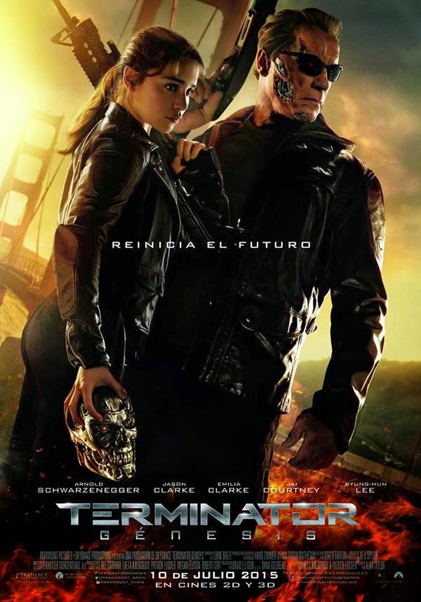Terminator Génesis cartel es