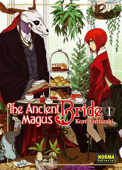 The Ancient Magus Bride portada