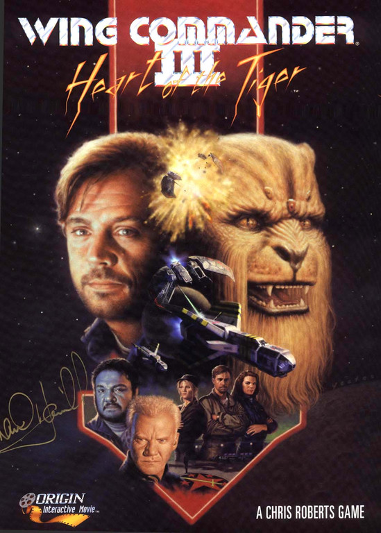 Wing Commander 3 Cover