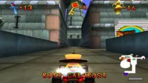 crash team racing - ciudadela