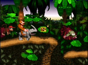 donkey kong country - rinoceronte