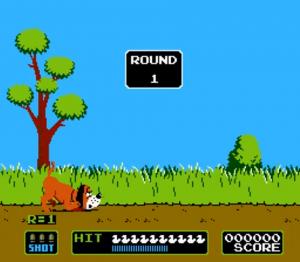 duck hunt - game a round 1