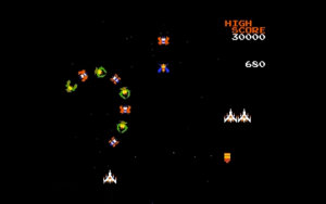 galaga - gameplay