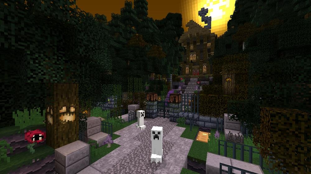 minecraft hallowen