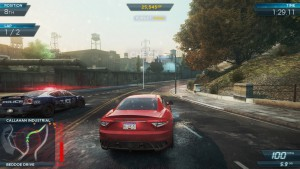 most wanted 2012 - gameplay
