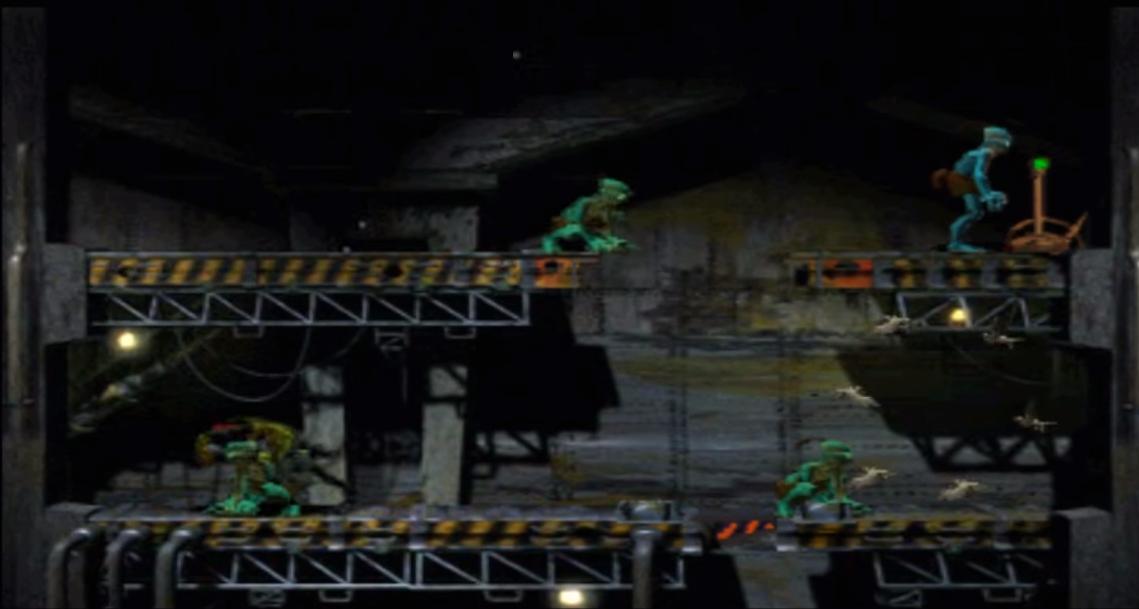 oddworld abe's oddysee - escenario