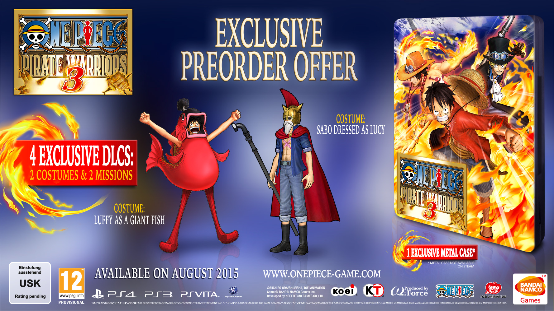 one piece pirate warriors 3-preorder