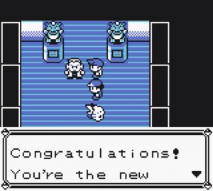 pokémon amarillo - congratulations