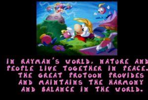 rayman - intro