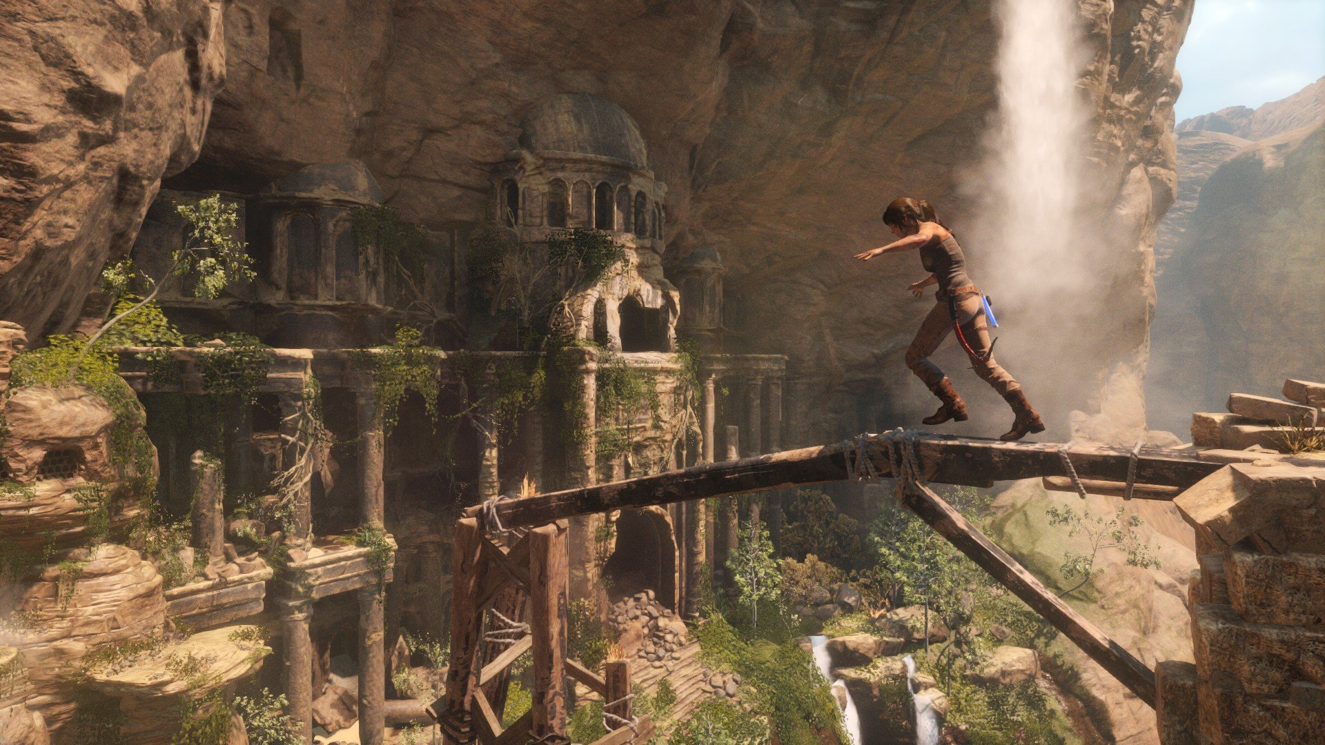 rise of the tomb raider banner