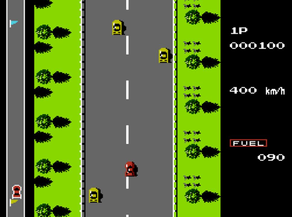 road fighter - tramo 1
