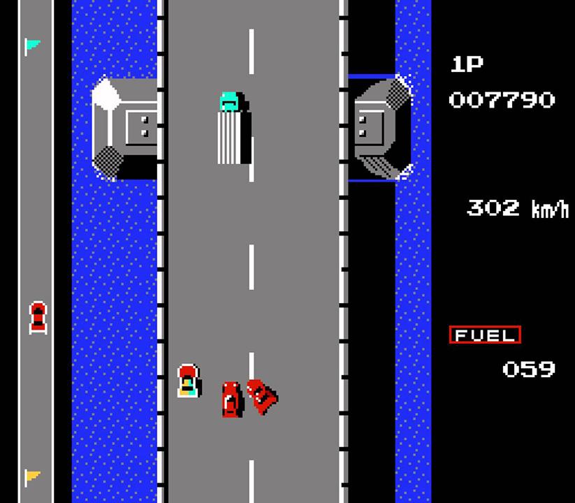 road fighter - tramo 2