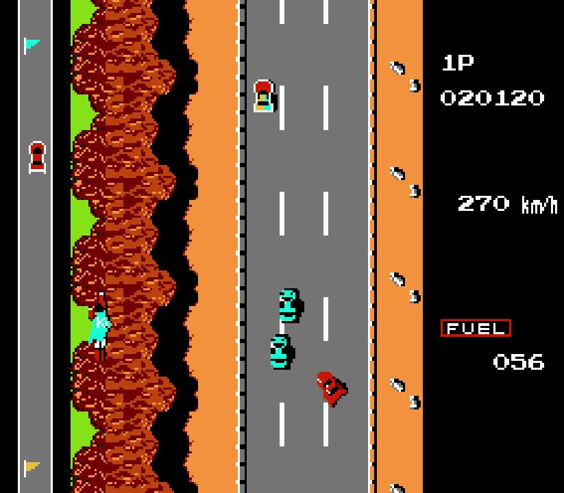 road fighter - tramo 4