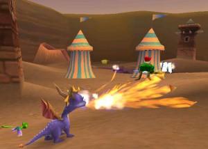 spyro the dragon - protagonistas