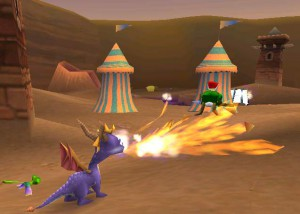 spyro the dragon - protagonistas