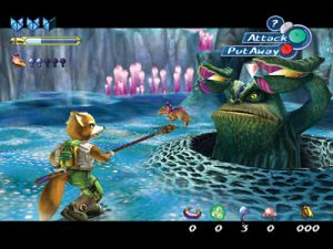 star fox adventures - enemigo
