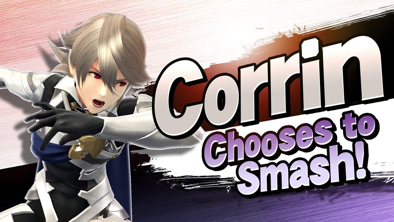 super smash bros - corrin